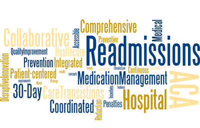 Readmissions News Word Cloud